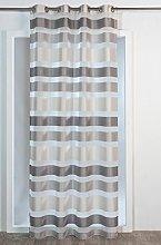 Homemaison Curtain Nice To Horizontal Stripe,