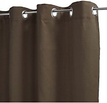 Homemaison Curtain Plain 100% Cotton Lightweight