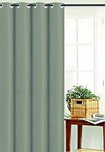 Homemaison Curtain Plain End Bachette Polyester,