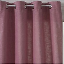 Homemaison Curtain Spirit Tweed, Polyester, pink,