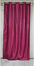 Homemaison Curtain Taffeta Lined, Polyester,