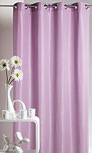 Homemaison Curtain Upholstery Plain Microfibre