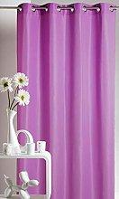 Homemaison Curtain Upholstery, Polyester, purple,