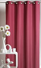 Homemaison Curtain Upholstery, Polyester, red,