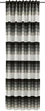Homemaison Curtain with Concealed Loops,