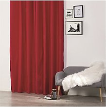 Homemaison Curtain with Eyelets, Polyester, red,