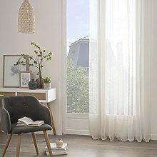 Homemaison Curtain with Eyelets Thin Stripes