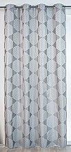 Homemaison Curtain with Geometric Shapes Madrid,