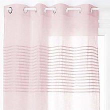 Homemaison Curtain with Horizontal Stripes,