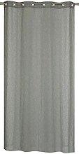 Homemaison Curtain with Linen Appearance,