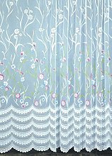 Homemaison Curtain with Smokeband, Polyester,
