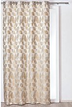 Homemaison Curtain with Triangular Patterns,