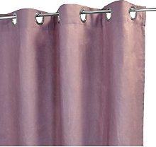 Homemaison Curtain XXL, Iced 100% Linen, Pink,