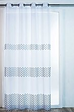 Homemaison Embroidered Curtain LACANAU, Polyester,