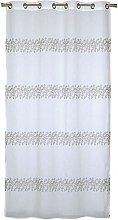 Homemaison Embroidered Leaf Net Curtain Polyester