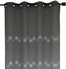 Homemaison HM69807368 Muslin Curtain with Circular
