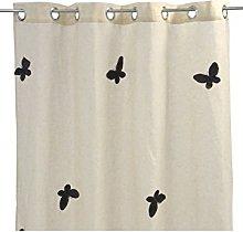 Homemaison Linen Effect Net Curtain with