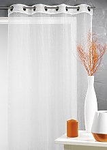 Homemaison Net Curtain - Organza with Fishnet