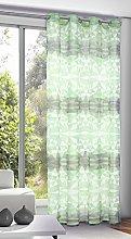 Homemaison Net Curtain with Geometric Prints,