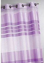 Homemaison Panel Curtain with Horizontal Stripes,
