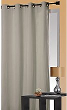 Homemaison Thermal Insulated Curtain, Polyester,