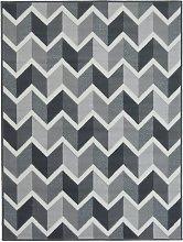 Homemaker Adorn Chevron Rug - 120x170cm - Grey