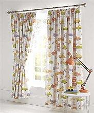 Homemaker Boys bedroom curtains cars vehicles