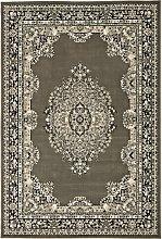 Homemaker Bukhura Persian Rug - 160x120cm - Grey