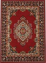 Homemaker Bukhura Persian Rug - 160x120cm - Red