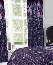 Homemaker Curtains 66 x 72 pair of aubergine