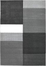 Homemaker Daytona Blocks Rug - 120x170cm - Grey