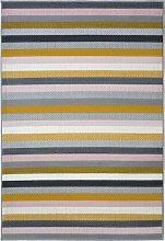 Homemaker Pastel Stripe Rug - 160x230cm -