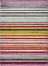 Homemaker Villa Striped Flatweave Rug - Multi -