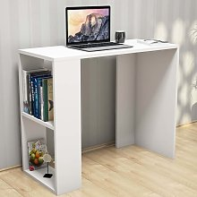 Homemania Computer Desk Nano 90x40x75 cm White