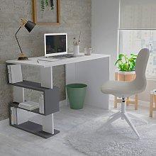 Homemania Computer Desk Patara 120x60x75 cm White