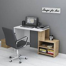 Homemania Computer Desk Sila 120.5x50x75 cm White