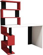 Homemania Computer Desk Snap 120x60x148.2cm White.
