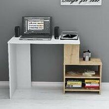 Homemania - Sila Desk with Shelves - for Living