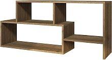 Homemania TV Stand Clover 121.8x29.5x53.8cm Walnut