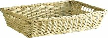 Homes on Trend Wicker Willow Storage Tray Gift