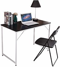 HomeSailing Computer Desk Black Modern Laptop PC