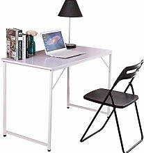 HomeSailing Computer Table Desk White Modern