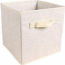 HomeSailing EU 10pcs Beige Unit Storage Box Cube