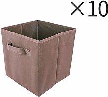 HomeSailing EU 10pcs Foldable Storage Box Small