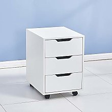 HomeSailing EU 3 Drawers Mobile Filing Cabinet
