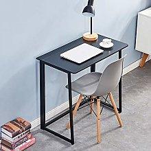 HomeSailing EU Fold up Desk Modern Black Folding