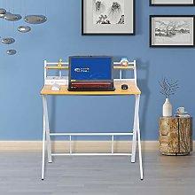 Homesailing EU Folding Computer Desk 2 Tier Laptop