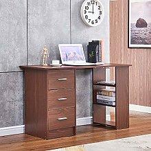 HomeSailing Modern I Shape Computer Desk Table