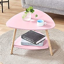 HomeSailing Small Oval Side Sofa Table with