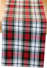 Homescapes - 100% Cotton Christmas Macduff Tartan